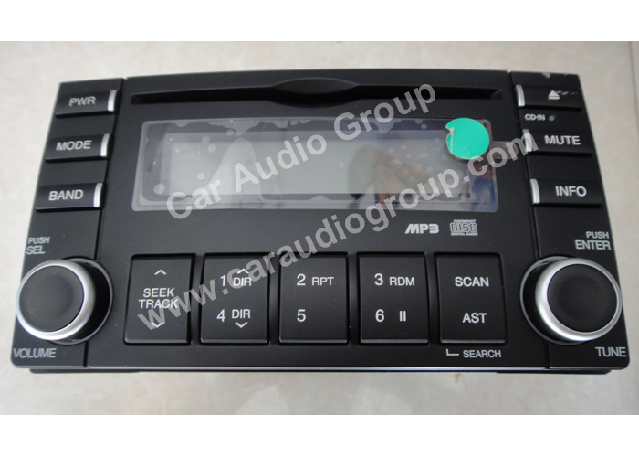car audio car stereo kia kia-0111 front view 700*500