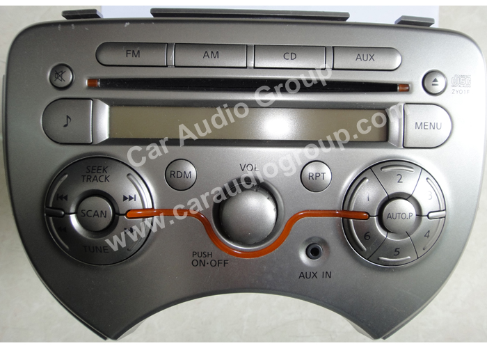 car audio car stereo Nissan Nis-0331 front view 700*500