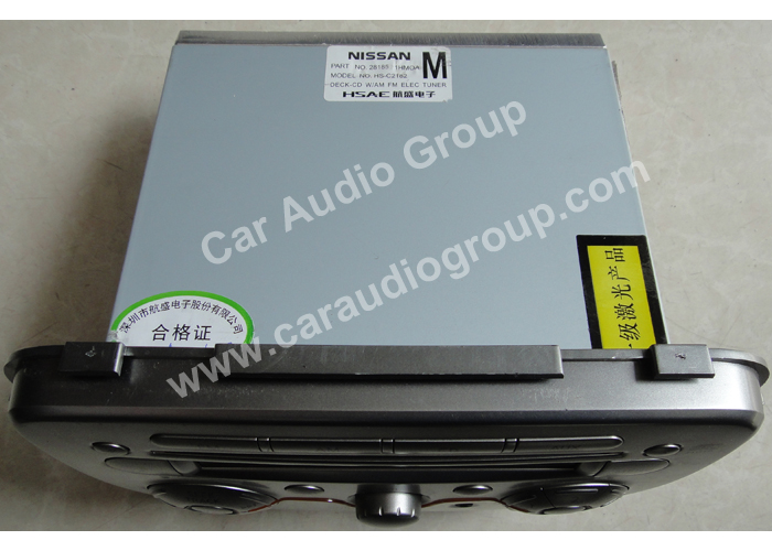 car audio car stereo Nissan Nis-0331 top view 700*500