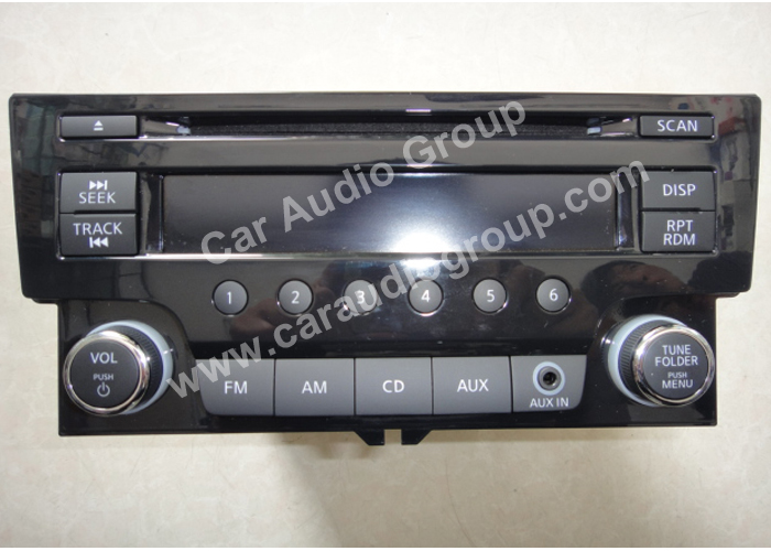 car audio car stereo Nissan Nis-0332 front view 700*500