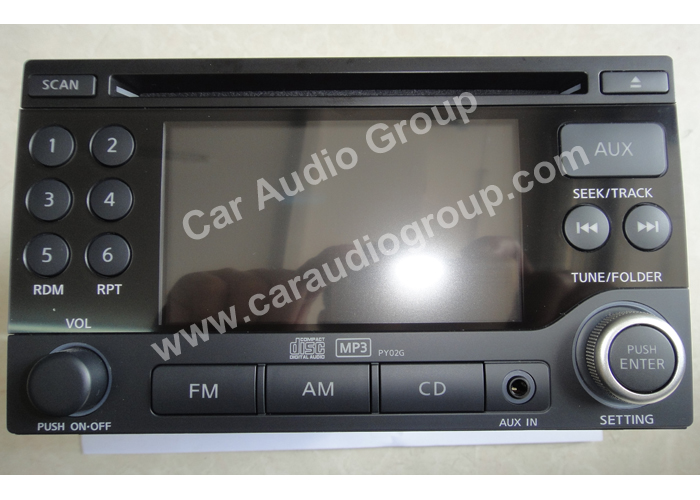 car audio car stereo Nissan nis-0333 front view 700*500