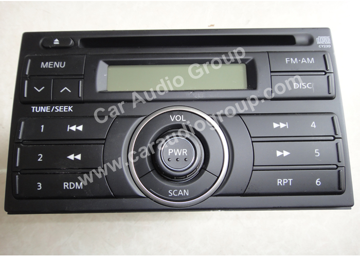 car audio car stereo Nissan nis-0335 front view 700*500