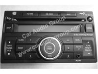 car audio car stereo Nissan nis-0336 front view 200*150