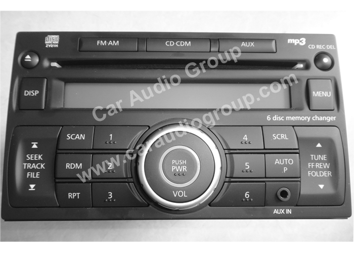 car audio car stereo Nissan nis-0336 front view 700*500