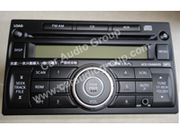 car audio car stereo Nissan nis-0338 front view 200*150