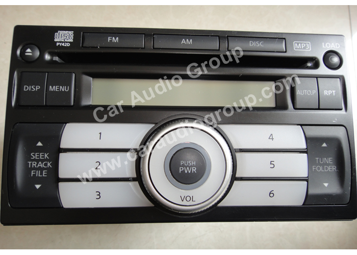 car audio car stereo Nissan nis-0339 front view 700*500