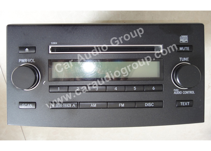 car audio car stereo toyota toy-0212 front view 700*500