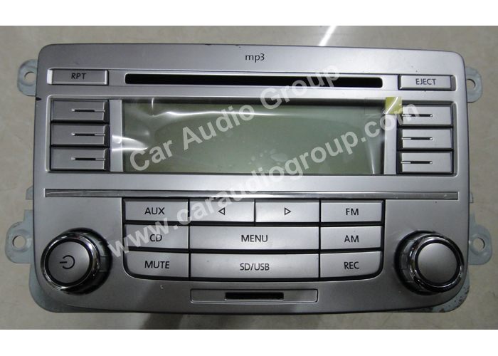 car audio car stereo volkswagen vol-0116 front view 700*500