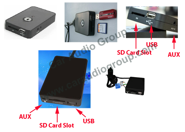 The USB / AUX Solutions of the Toyota OEM Car Audio #00004