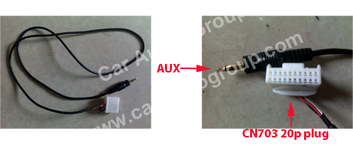 The USB / AUX Solutions of the Toyota OEM Car Audio #00005