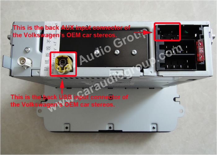 The USB / AUX Solutions of the Volkswagen OEM Car Audio #00001
